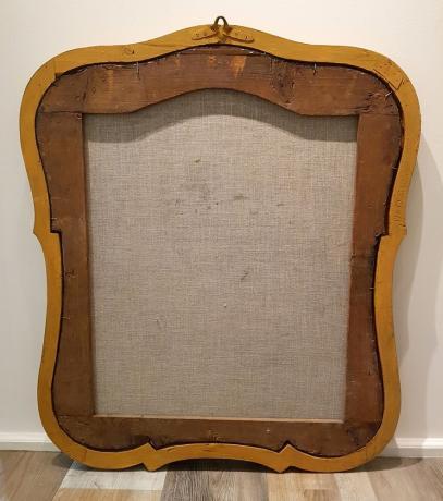 """Retro Dipinto olio su tela """"Ecce Homo"""", prima metà '700"""