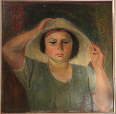 Dipinto Olio su Tavola F. Monzeglio