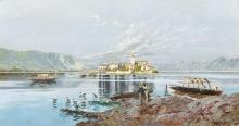 Isola dei pescatori (Dipinto 1)